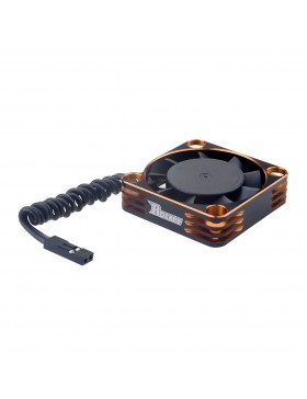 Rocket Aluminum 40x40x10 16000RPM cooling fan (Orange&Black) for motor