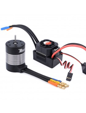 3650 waterproof  brushless motor  with 45A ESC combo