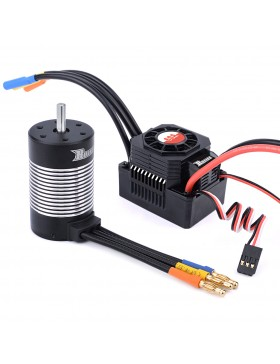 3660 waterproof  brushless motor  with 60A ESC combo