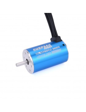 3665 sensorless brushless motor