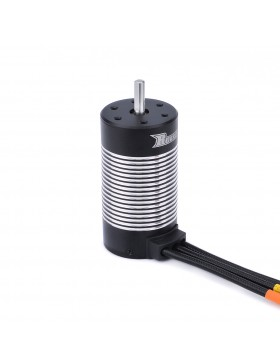 3670 ROCKET  sensoreless waterproof motor(Black & Silver)
