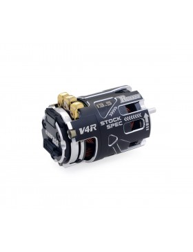 540 V4R Sensored Brushless Motor(Black & Silver)