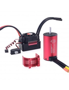 KK3665 waterproof  brushless motor  with 80A ESC combo